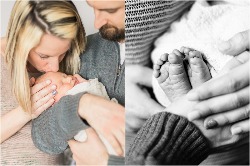 Westminster Maryland newborn and family lifestyle photos with Landon