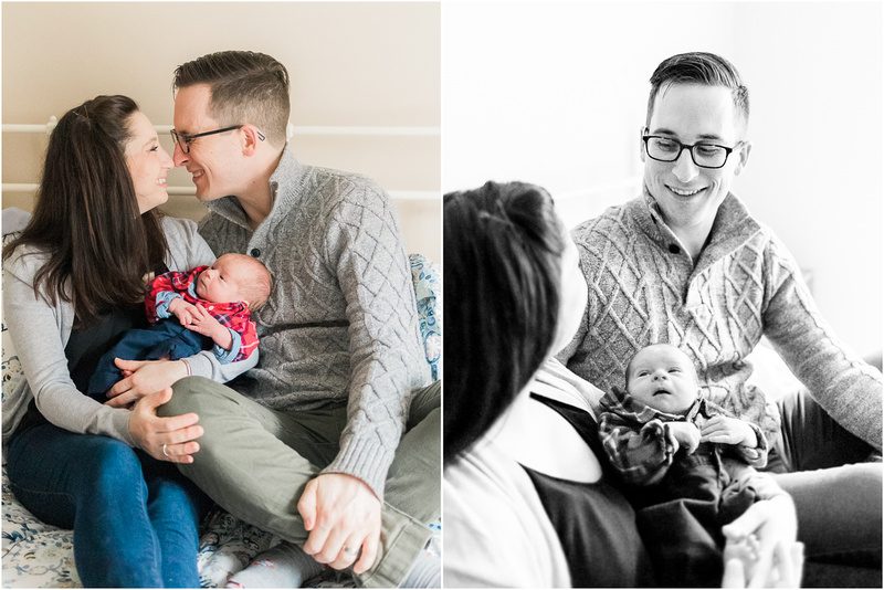 Columbia Maryland newborn and family lifestyle photos with Anderson