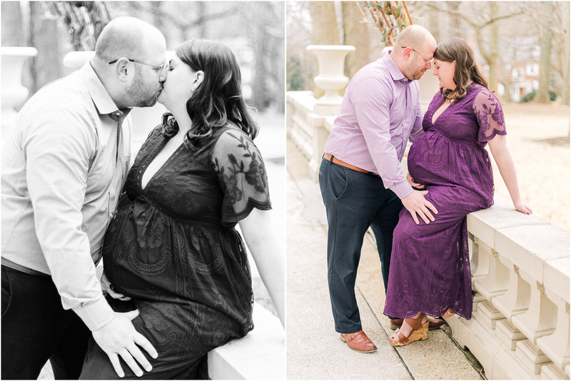 Bel Air Maryland maternity lifestyle photos with Laurel and Matt.
