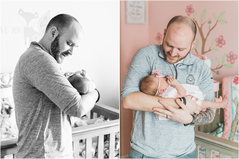 Bel Air Maryland newborn and family lifestyle photos with Skylar