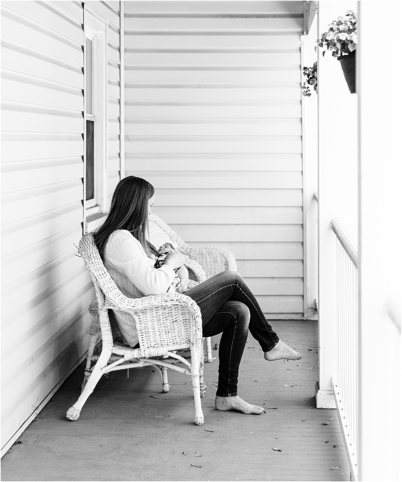 Catonsville Maryland newborn and family lifestyle photos with Avery
