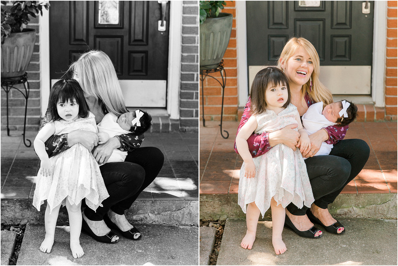 Baltimore Maryland newborn and family lifestyle photos with Reese
