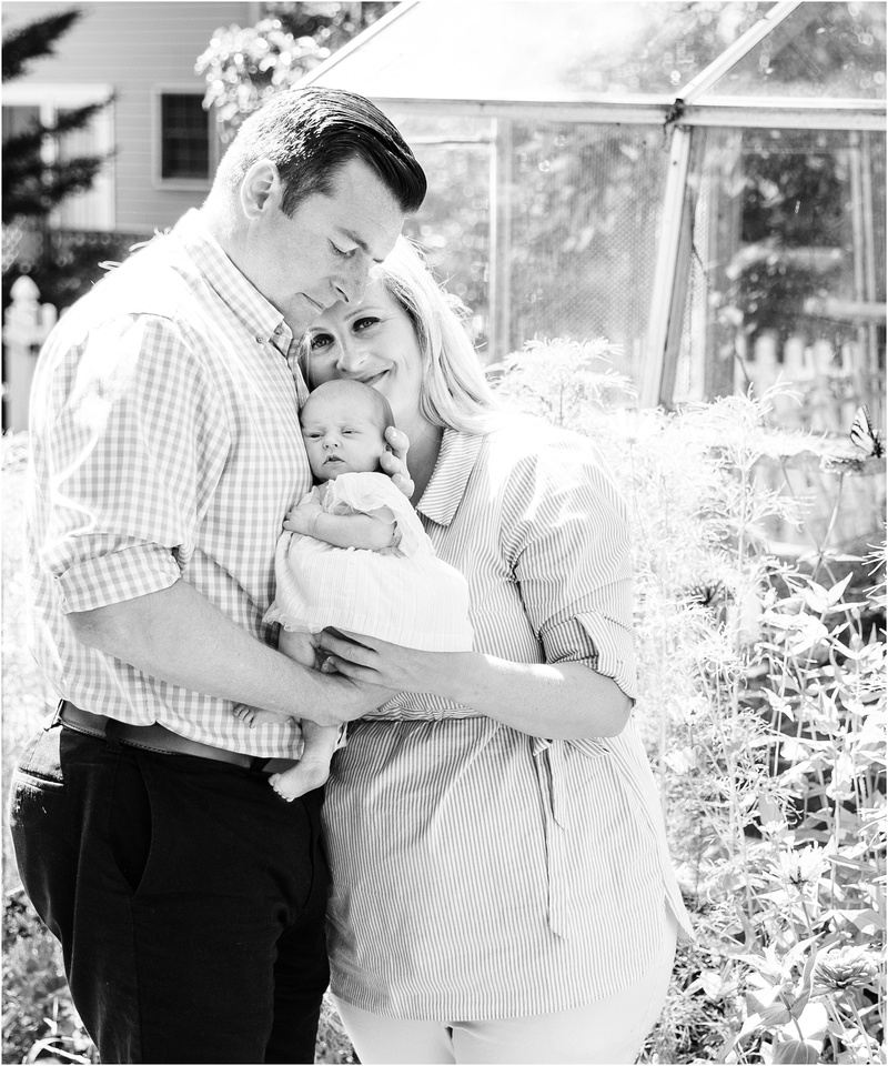 Reisterstown Maryland newborn and family lifestyle photos with Charlotte