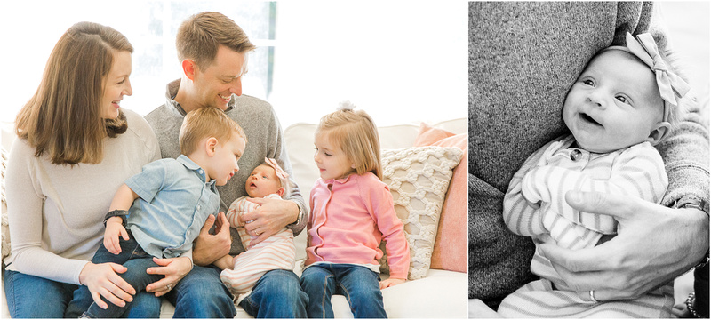 Mount Airy Maryland newborn and family lifestyle photos with Natalie