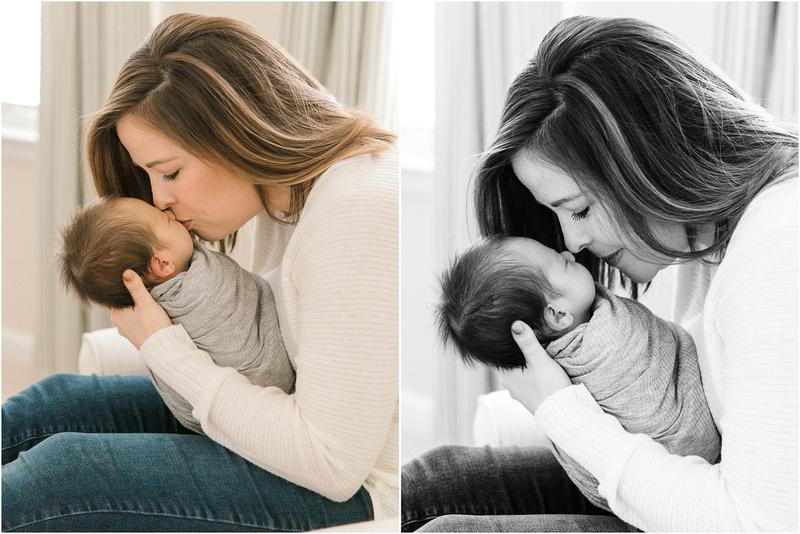 Glen Burnie Maryland newborn and family lifestyle photos with Julian