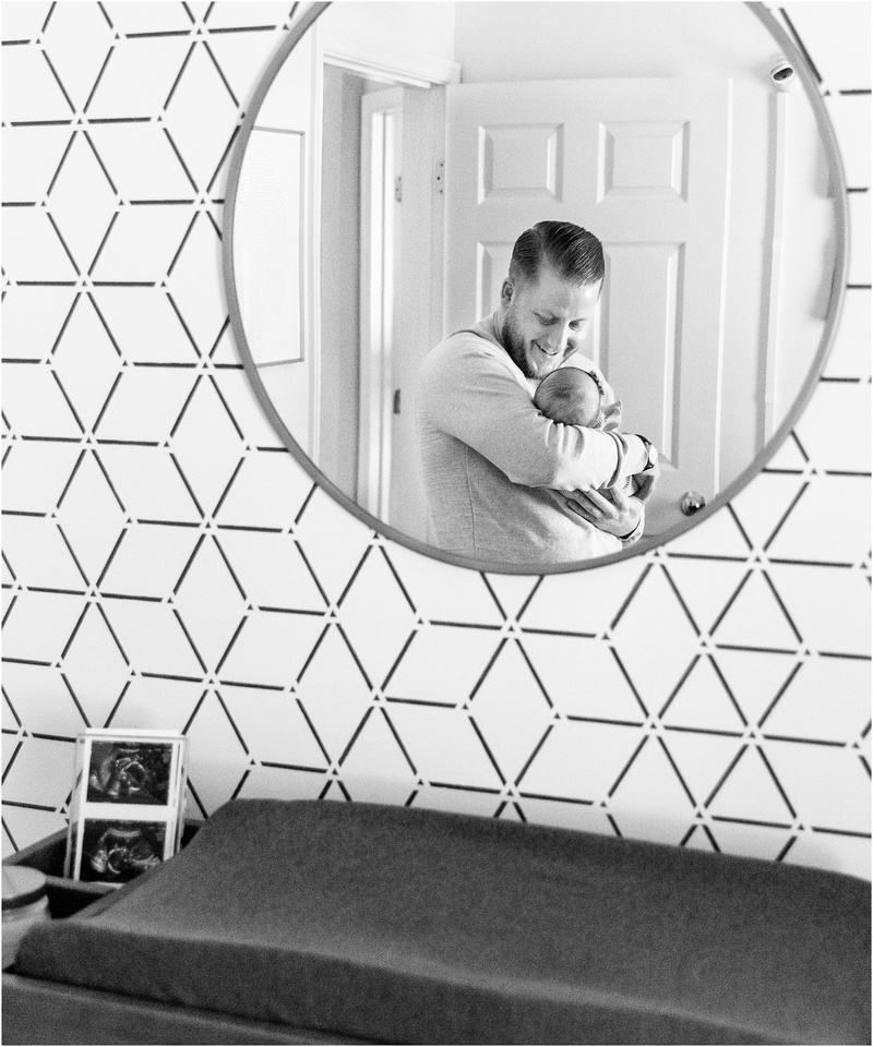 Odenton Maryland newborn and family lifestyle photos with Layla