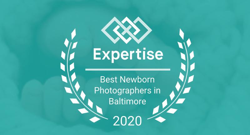 2020 best Baltimore Maryland newborn photographer chosen by Expertise.com