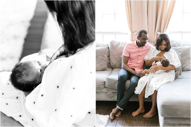 Elkridge Maryland newborn and family lifestyle photos with Olutoye