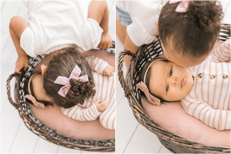 Catonsville Maryland newborn and family lifestyle photos with Mila